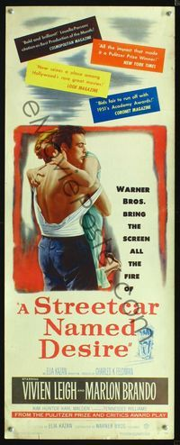 a plot overview of the story of a streetcar named desire