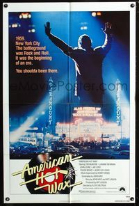 2c060 AMERICAN HOT WAX one-sheet movie poster '78 the beginnings of rock & roll in New York in 1959!