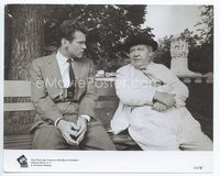 2d028 ADVISE & CONSENT 8x10 '62 Murray is glad Laughton offers to help him, but he can't be helped!