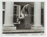 2d029 AFFAIRS OF DOBIE GILLIS 8x10 movie still '53 wacky image of Bobby Van in mid-air dancing!
