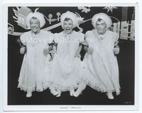 2d038 BAND WAGON 8x10 '53classic image of Fred Astaire, Nanette Fabray & Jack Buchanan as triplets!