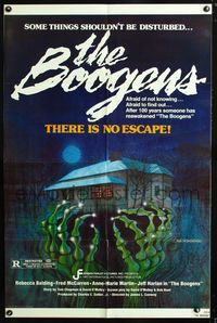 2e068 BOOGENS one-sheet movie poster '81 some things shouldn't be disturbed, there is no escape!