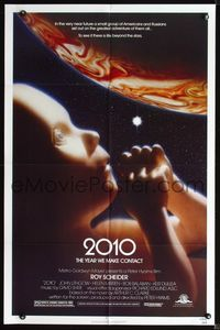 2r025 2010 one-sheet poster '84 the year we make contact, sci-fi sequel to 2001: A Space Odyssey!