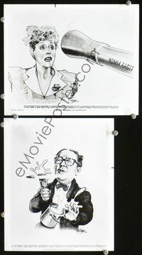 3y243 1941 2 8x10 stills '79 cool concept art movie stills of Ned Beatty and Lorraine Gary!