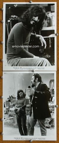 3y244 200 MOTELS 2 8x10 stills '71 great cool close-up movie still of rocker Frank Zappa!