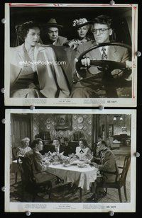 3y262 ALL MY SONS 2 8x10 movie stills '48 great images of Edward G. Robinson, Burt Lancaster!