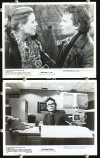 3y265 AMATEUR 2 8x10 movie stills '82 great images of John Savage as CIA agent!