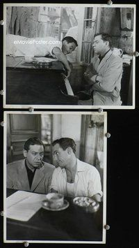 3y267 AMERICAN IN PARIS 2 8x10 movie stills '51 great images of Gene Kelly & Oscar Levant at piano!