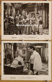 3y282 AVENGERS 2 8x10 movie stills '49 two great images of John Carroll + sexy Adele Mara!