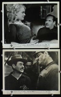 3y283 BABY DOLL 2 8x10 movie stills '57 great close-ups of Carroll Baker, Eli Wallach, Karl Malden!