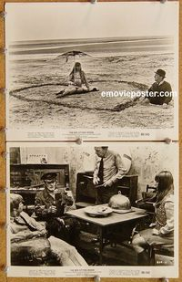 3y302 BED SITTING ROOM 2 8x10 movie stills '69 great images from post-apocalyptic comedy!