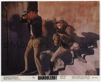 3y016 BANDOLERO color 8x10 movie still '68 great image of Dean Martin & James Stewart aiming guns!