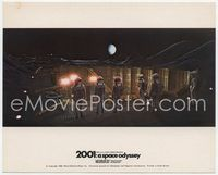 3y005 2001: A SPACE ODYSSEY English FOH LC '68 astronauts on moon overlooking excavation site!