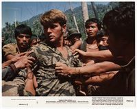 3y011 APOCALYPSE NOW 8x10 mini lobby card '79 Francis Ford Coppola, Vietnamese grab Martin Sheen!