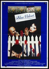 4d054 BLUE VELVET German '86 directed by David Lynch, sexy Isabella Rossellini, Kyle McLachlan