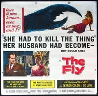 4r002 FLY linen 6sh '58 different, she had to kill the thing her husband had become, but could she!