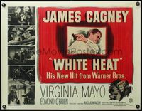 4r023 WHITE HEAT 1/2sh '49 James Cagney is Cody Jarrett, classic film noir, top of the world, Ma!
