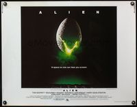 4v512 ALIEN 1/2sh '79 Ridley Scott outer space sci-fi monster classic, cool hatching egg image!