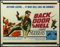 4v533 BACK DOOR TO HELL 1/2sh '64 Jimme Rodgers, beyond Luzon it was kill like an animal!