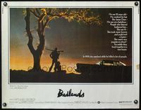 4v536 BADLANDS 1/2sh '74 Terrence Malick's cult classic, Martin Sheen & Sissy Spacek!