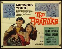4v546 BEATNIKS 1/2sh '59 mutinous youth screaming their defiance, mocking the course of society!