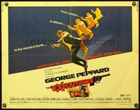 4v640 EXECUTIONER 1/2sh '70 image of George Peppard w/gun, every day he lives, somebody else dies!