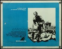 4v641 EXODUS 1/2sh '61 Otto Preminger, Paul Newman, art of arms reaching for rifle by Saul Bass!