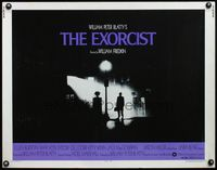 4v642 EXORCIST 1/2sh '74 William Friedkin, Max Von Sydow, horror classic from William Peter Blatty!