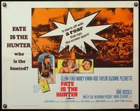 4v646 FATE IS THE HUNTER 1/2sh '64 Glenn Ford, Nancy Kwan, Rod Taylor, Suzanne Pleshette!