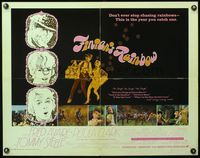 4v652 FINIAN'S RAINBOW 1/2sh '68 Fred Astaire, Petula Clark, directed by Francis Ford Coppola!