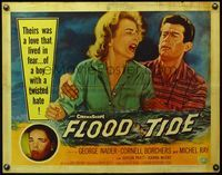 4v659 FLOOD TIDE 1/2sh '58 their love lived in fear of a boy with a twisted hate!