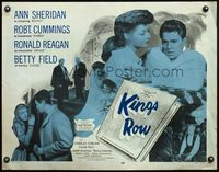 4v743 KINGS ROW 1/2sh R56 Ann Sheridan with Ronald Reagan, who wonders where is the rest of him!