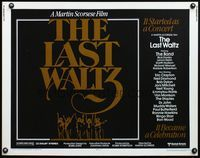 4v754 LAST WALTZ 1/2sh '78 Martin Scorsese, it started as a rock concert & became a celebration!