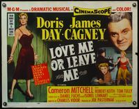 4v764 LOVE ME OR LEAVE ME 1/2sh '55 full-length sexy Doris Day as famed Ruth Etting, James Cagney