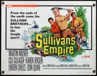 4v895 SULLIVAN'S EMPIRE 1/2sh '67 even South American Amazon Jungle can't stop the Sullivan Bros!