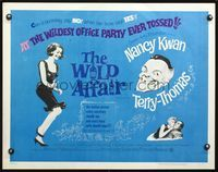 4v980 WILD AFFAIR 1/2sh '65 can secretary Nancy Kwan say no when her boss Terry-Thomas says yes!