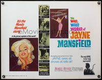 4v982 WILD, WILD WORLD OF JAYNE MANSFIELD 1/2sh '68 many super sexy images, she shows & tells all!