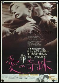 4v063 CHILD IS WAITING Japanese '66 Burt Lancaster & Judy Garland, wild struggling boy image!