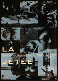 4v261 LA JETEE Japanese '90s Chris Marker French sci-fi, cool montage of bizarre images!