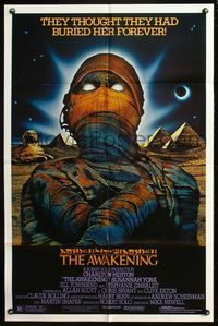 5e058 AWAKENING 1sh '80 Charlton Heston, Egypt, the evil one must not live again!
