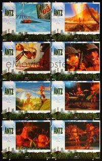 5h017 ANTZ 8 int'l LCs '98 Woody Allen, computer animated insects, every ant has his day!