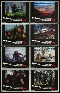 5h050 BIG RED ONE 8 LCs '80 directed by Samuel Fuller, Lee Marvin, Mark Hamill, Robert Carradine!