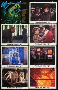 5h054 BLACK HOLE 8 LCs '79 Walt Disney, a journey that begins where everything ends!