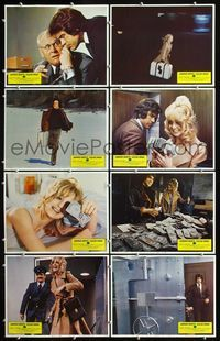 5h002 $ 8 LCs '71 images of bank robbers Warren Beatty & sexy Goldie Hawn!