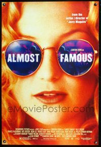 5m077 ALMOST FAMOUS DS 1sh '00 Cameron Crowe directed, pretty Kate Hudson!