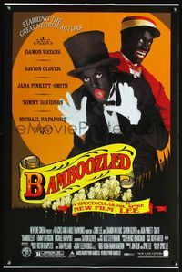 5m104 BAMBOOZLED DS 1sh '00 Spike Lee, Damon Wayans, great blackface image!