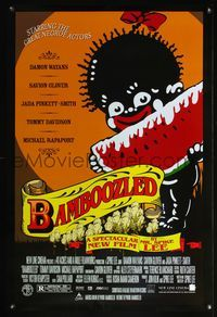 5m105 BAMBOOZLED DS watermelon style 1sh '00 Spike Lee, Damon Wayans, great artwork!