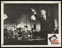6f006 ADVISE & CONSENT signed LC '62 by Burgess Meredith, accusing Henry Fonda of being a Communist!