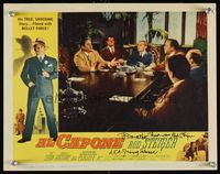 6f007 AL CAPONE signed LC #2 '59 by Rod Steiger, who is literally the chairman of the board!