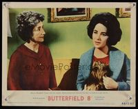 6f351 BUTTERFIELD 8 LC #7 '60 callgirl Elizabeth Taylor has to tell her mother how bad she's been!